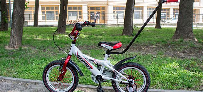 Советы при выборе двухколесного велосипеда с ручкой для детей, отзывы родителей