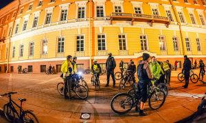 Велопробег Pin-Mix в Санкт-Петербурге