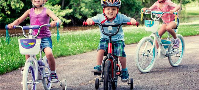Выбираем детский велосипед малышам от двух лет