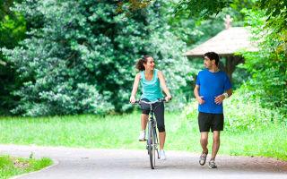 Бег или езда на велосипеде: все за и против