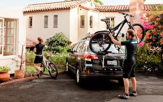 Багажники на авто для перевозки велосипедов: виды, достоинства, отзывы