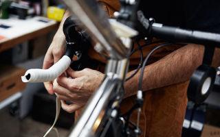Для чего нужна обмотка для руля велосипеда и как ее обмотать?