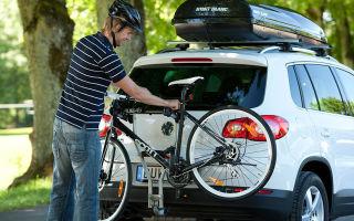 Велокрепления на машину: виды, цены, отзывы