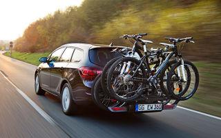 Крепление для велосипеда на фаркоп машины