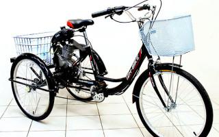 Описание и отзывы владельцев трехколесного велосипеда Иж Байк Фермер 24