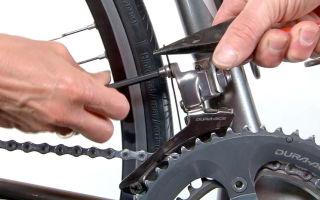 Как настроить передний переключатель у велосипеда — пошаговая методика и советы