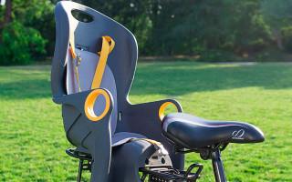 Детское кресло на велосипед: виды и модели