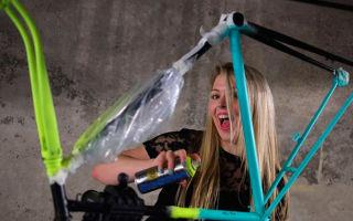 Как выбрать краску и покрасить велосипед в домашних условиях?