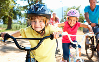 Советы при выборе велосипеда для детей