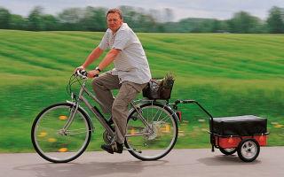 Изготовление велоприцепа своими руками