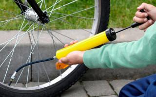 Рекомендуемое давление в шинах велосипеда