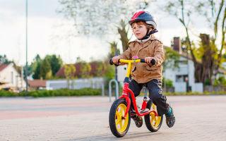 Принцип работы и польза детского беговела