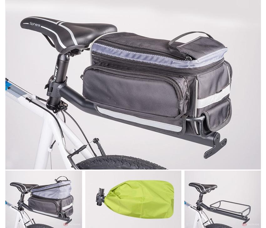 Самодельный багажника для велосипедов