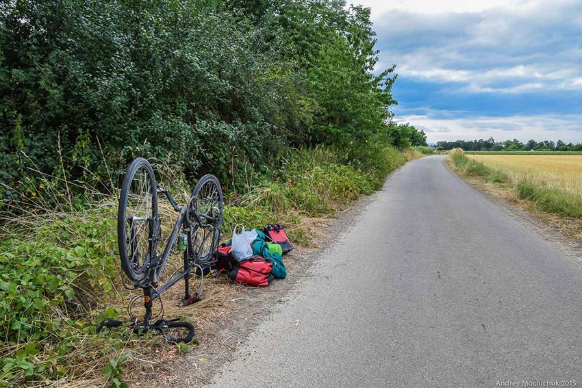 Поломки в дороге - ремонт велосипеда в полевых условиях