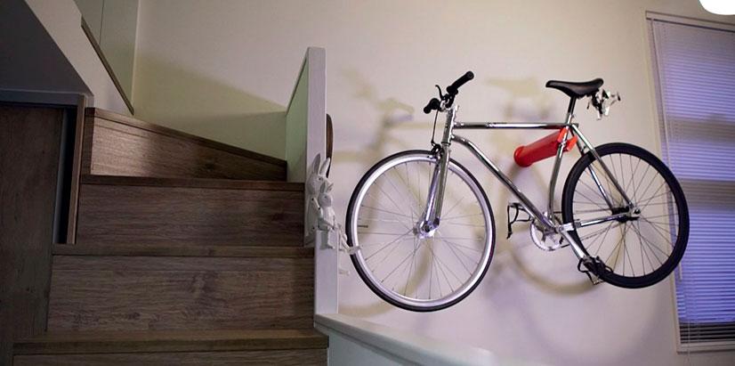 Настенные держатели для велосипедов своими руками 69