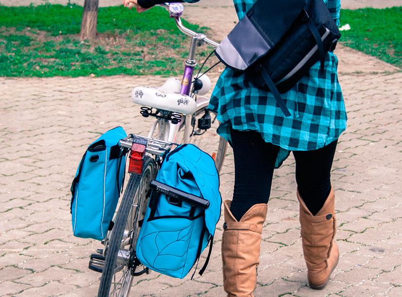 Как самому сделать багажник на велосипеде