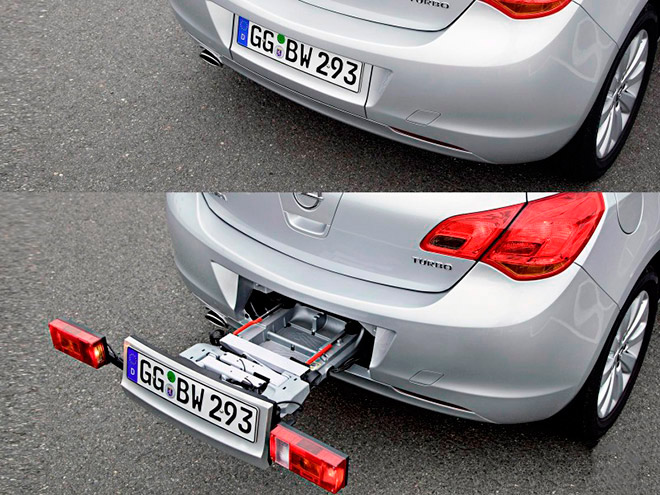 Встроенные крепления автомобилей