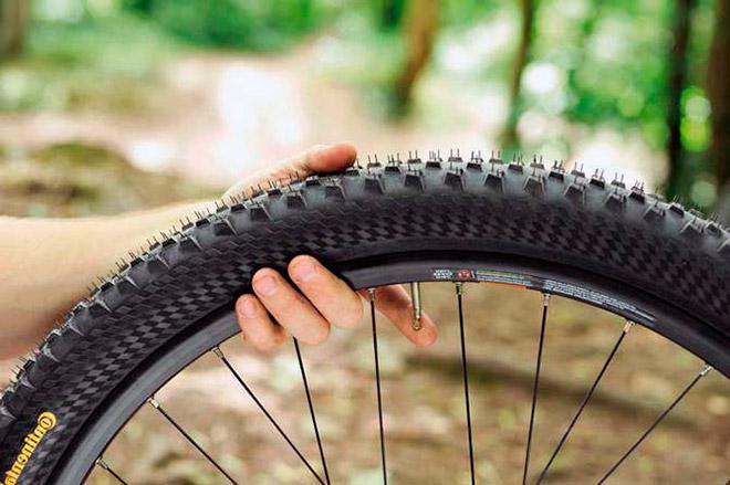 Давление в колесах велосипеда