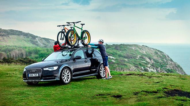 Как перевозить велосипед на машине?