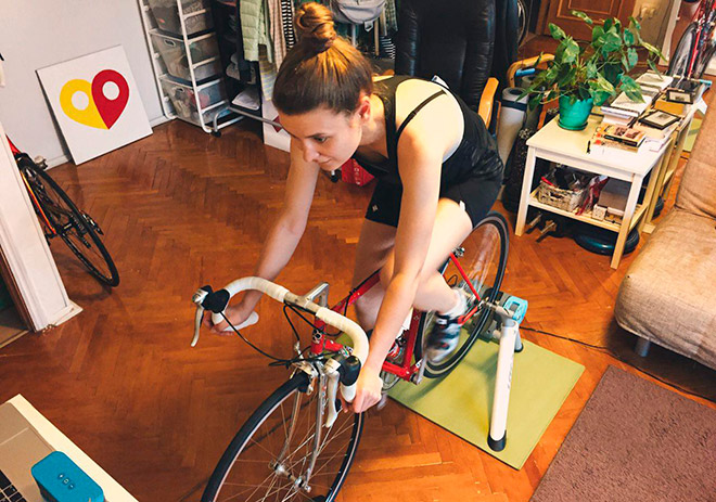 Станок для велосипеда