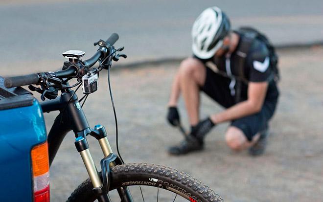 Камера для съемки на велосипед