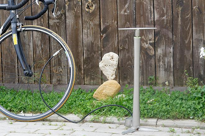 Велонасос с манометром