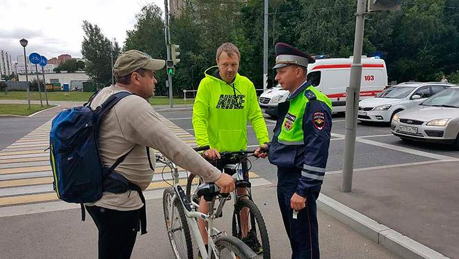Распространенные нарушения ПДД при езде на велосипеде