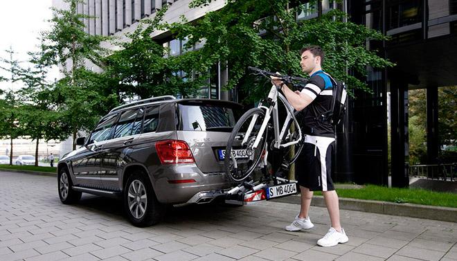 Виды креплений велосипеда на авто