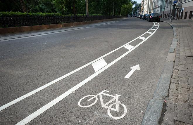 Что такое полоса для всех велосипедистов?