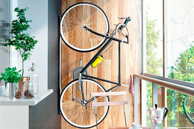 Правила подвешивания велосипеда