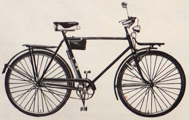 Велосипед Украина – история создания, фото