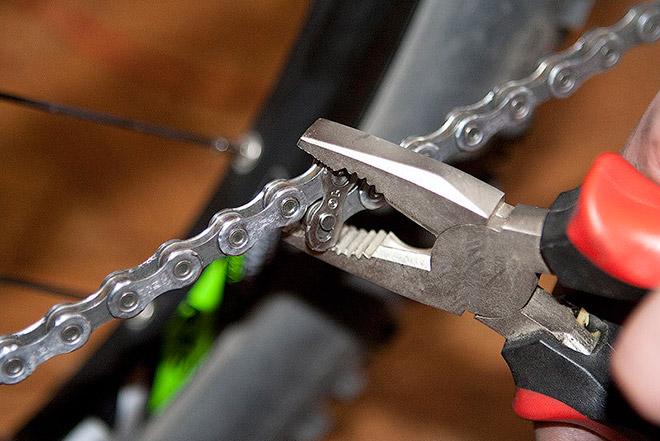 Как разобрать и очистить цепь?