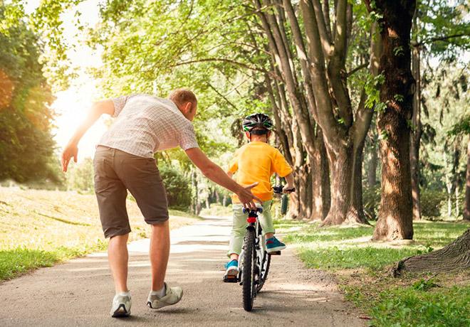 Выборе велосипедов для детей
