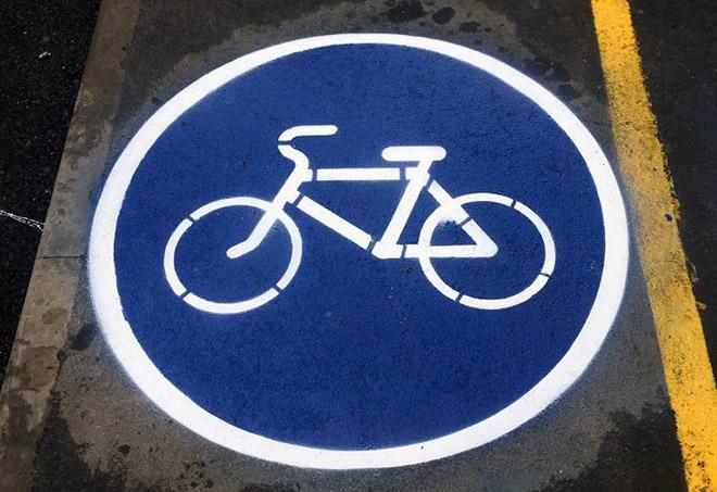 Как выглядит знак велосипедная дорожка - картинки