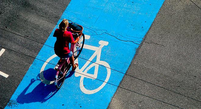 Полоса для всех велосипедистов