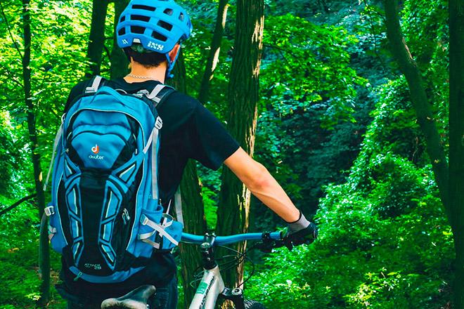 Виды рюкзаков на спину для велосипеда