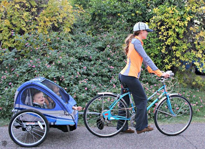 Прицеп для велосипеда для детей