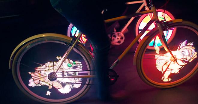 Типы велосипедных подсветок
