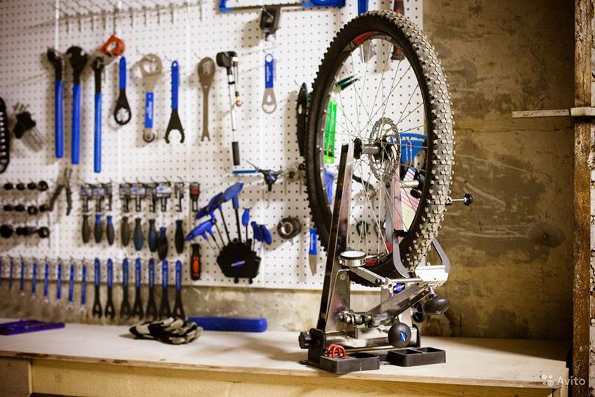 Переспицовка колеса велосипеда