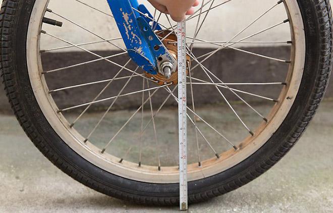 Размер колеса велосипеда