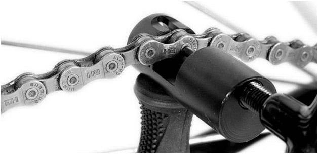 Как удалить лишние звенья цепи велосипеда?