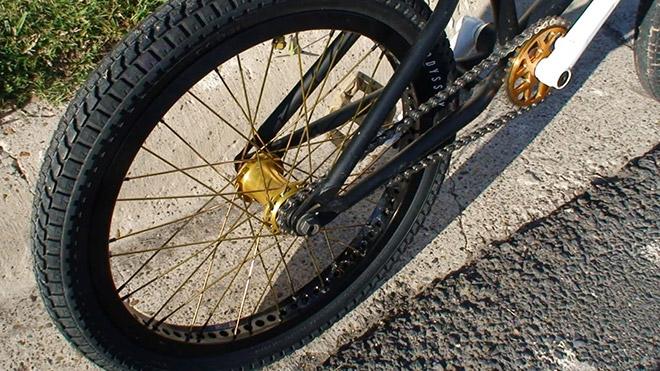 Заднее колесо для BMX