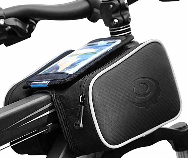 Сумка на раму для велосипеда