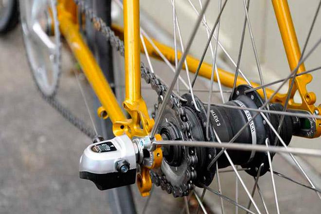 Планетарный редуктор велосипеда