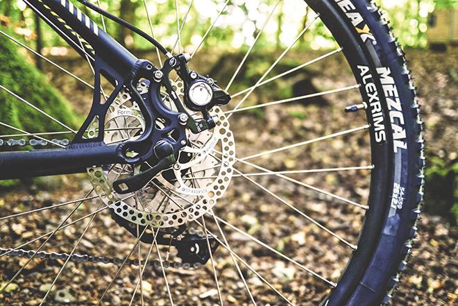 Гидравлический тормоз на велосипед
