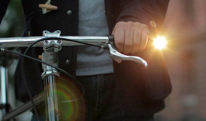 Фонарь на руль велосипеда