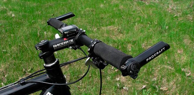 Как установить рога на руль велосипеда