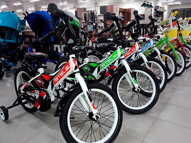 Детский велосипед Stels Jet 18